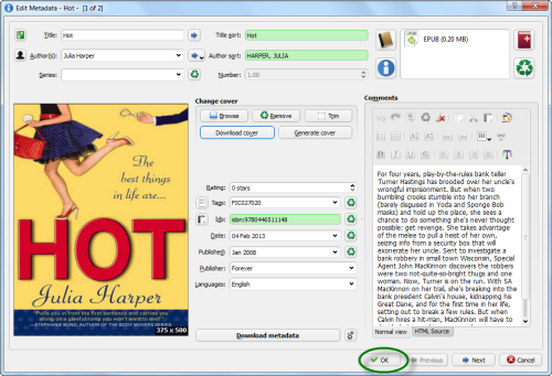 How to add a cover to an EPUB / PDF / MOBI book | eBook Converter