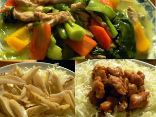 夕食の献立 献立レシピ 飽きない献立 鶏せせりあんかけ炒め煮 ぼんじり(惣菜) 軟骨ごま油炒め