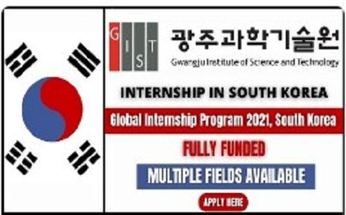 global-internship-program-2021-south-korea-apply-online