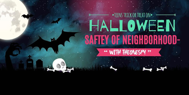 Halloween Safety! Protect Children from  All Misadventures with A Mobile App