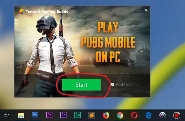 Proses install + download Engine (emulator)