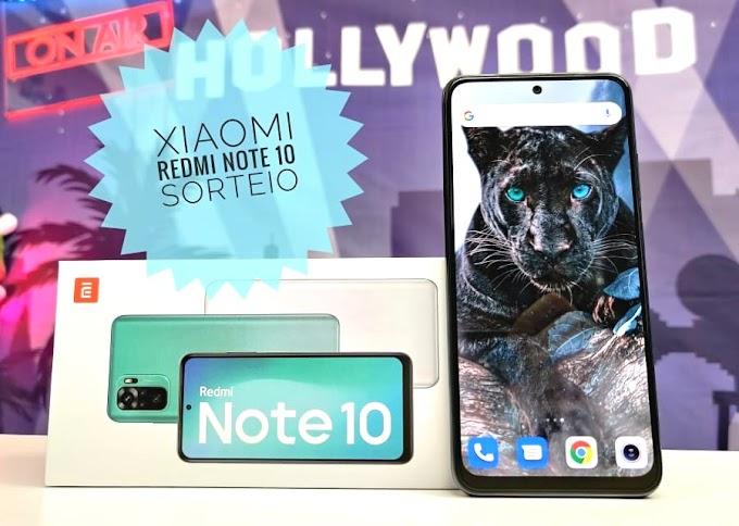 Sorteio de um Xiaomi Mi Note 10
