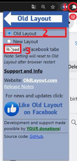 كيفية الرجوع إلى شكل فيسبوك القديم بعد تحديث فيس بوك الجديد old facebook design 2020