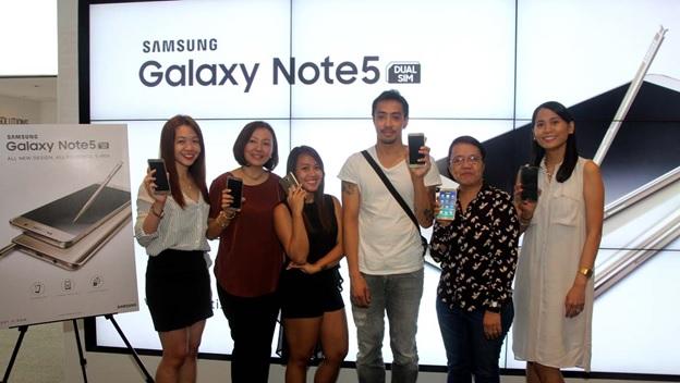 Lucky UBER riders win Samsung Galaxy Note5