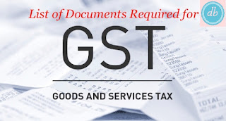 Documents required for GST registration Individual