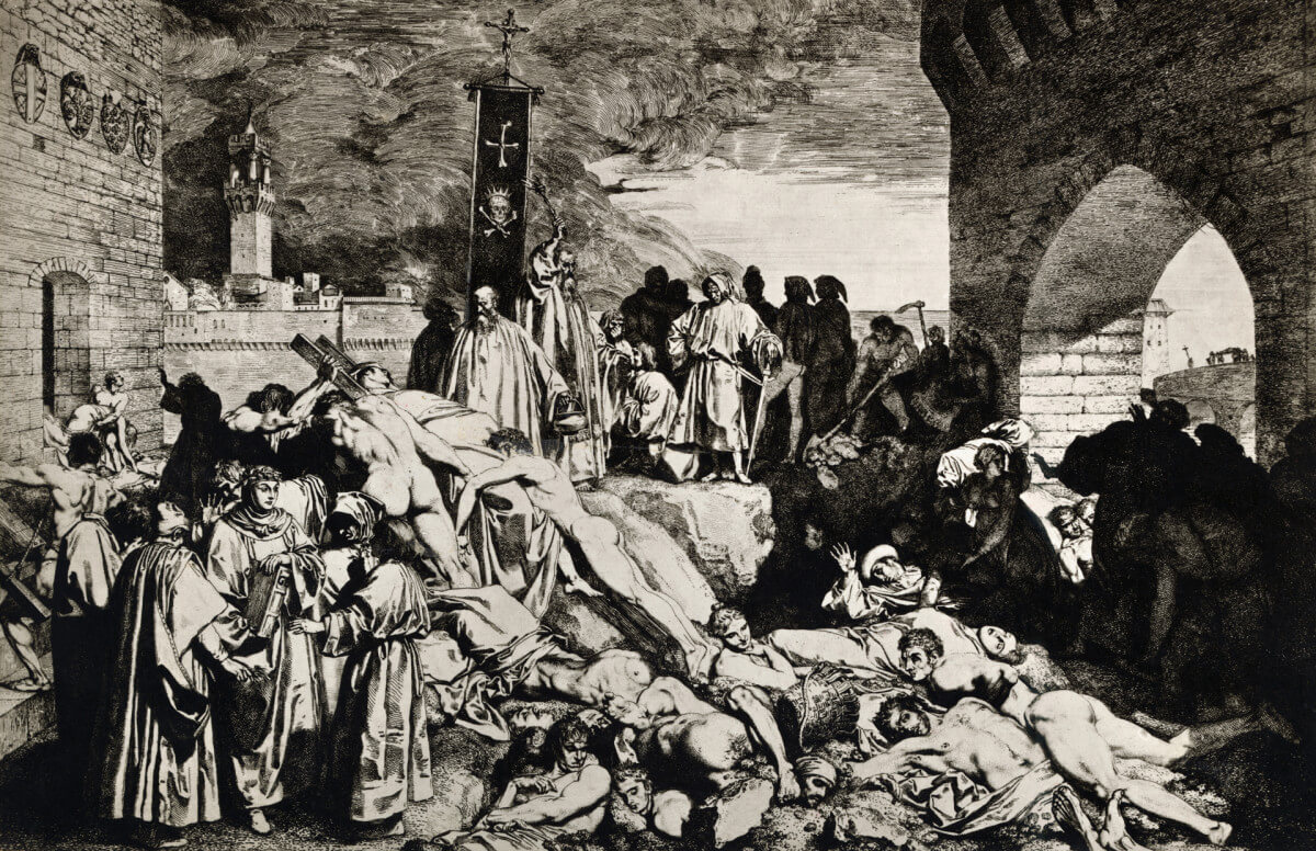 Black Death and Islam