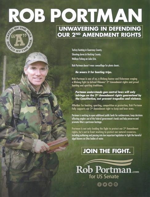 Sen Rob Portman nra mailer