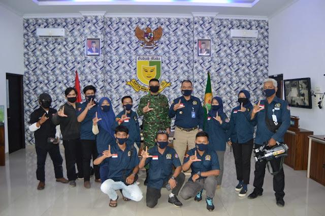 AWPI Melaksanakan Audiensi dengan Dandenpom II/3, Mayor Cpm Hanri Wira Kusuma