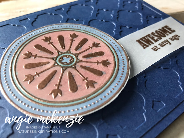Global Creative INKspirations - Birthdays | Florentine Filigree bundle, Itty Bitty Birthdays by Stampin' Up!® | Nature's INKspirations by Angie McKenzie