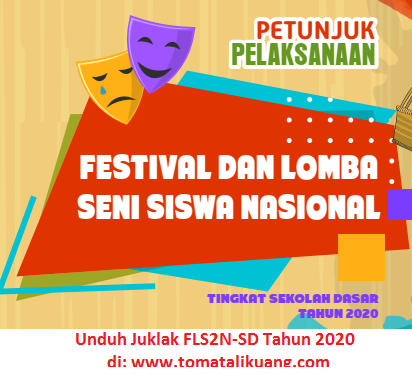 juklak fls2n sd tahun 2020; www.tomatalikuang.com