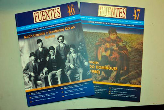 Revista Fuentes será entregada a Tupiza