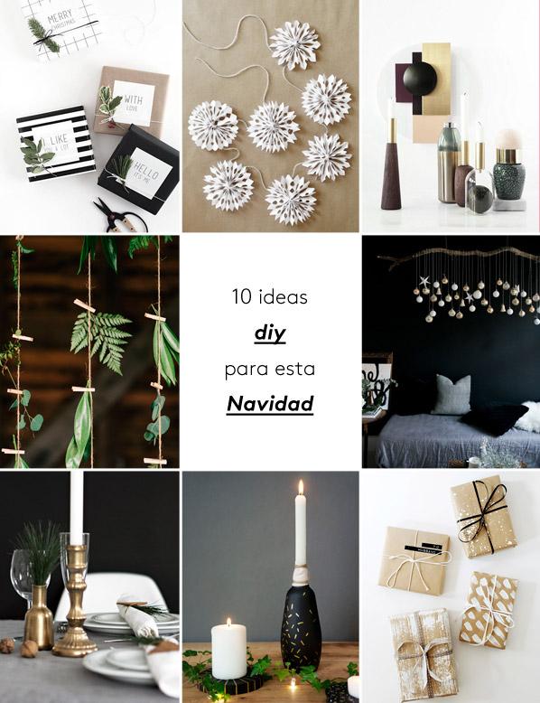 ideas decoracin diy para navidad