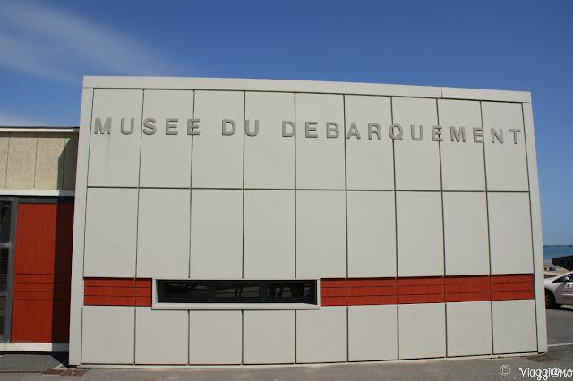 Ingresso al Museo dello Sbarco di Arromanches