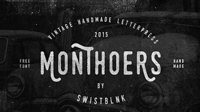monthoers vintage typeface