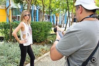 Lookbook com celular e câmeras compactas