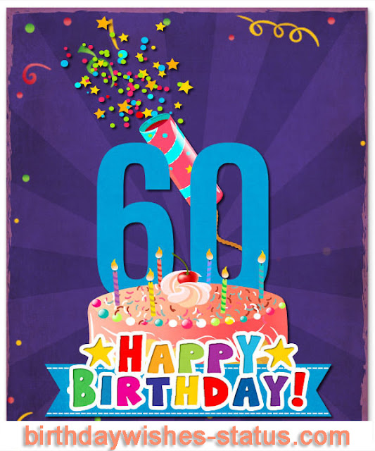 happy 60th birthday wishes