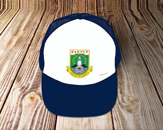 desain topi lambang logo provinsi banten - kanalmu
