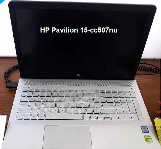 HP Pavilion 2018 edition - 15-cc507nu
