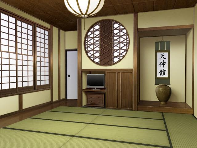Japanese Living Room (Anime Background)