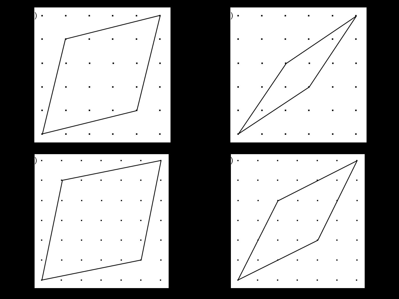 MEDIAN Don Steward mathematics teaching: rhombus area