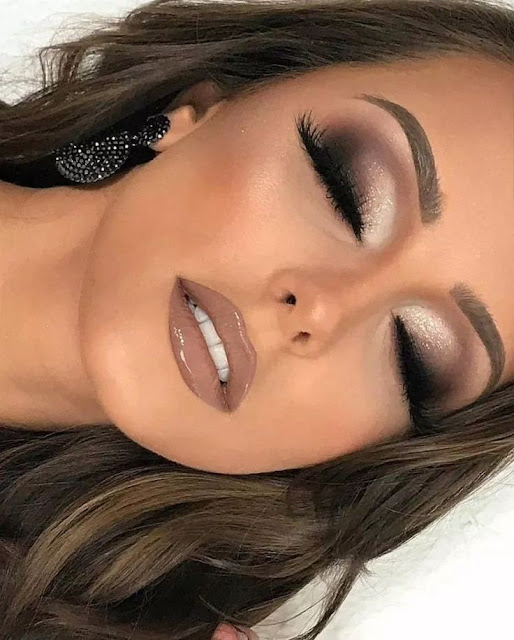 Prom makeup look