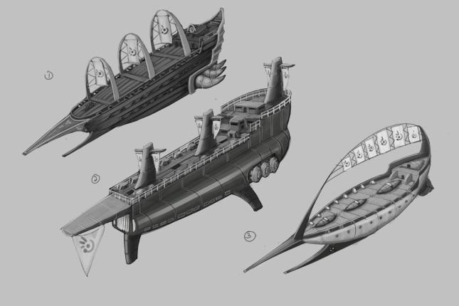 Ryan Sumo's Blog: Martian Ships Concepts