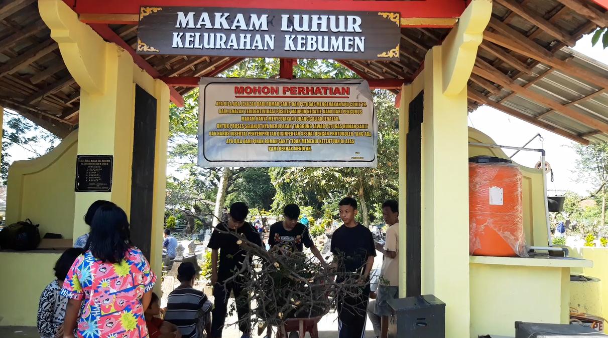 Jelang Ramadan, Warga Kelurahan Kebumen Gelar Tradisi Ruwahan