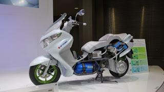 Foto Modifikasi Motor Tenaga Hidrogen Ramah Lingkungan