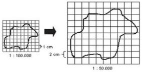 Cara Memperbesar dan Memperkecil Peta