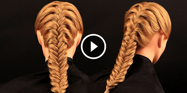 How To Create Simple And Easy Fishtail Hairstyle