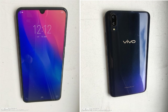 Vivo V11 Leaked Online Showing Images And Full Specifications