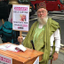 British Man Protests On The Streets Of London over Leah Sharibu