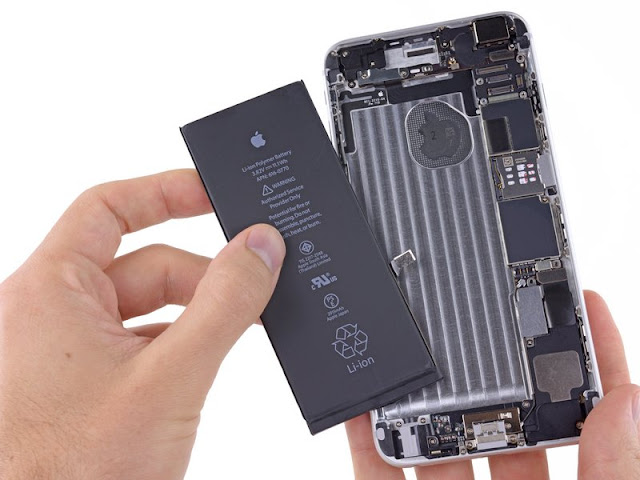 Thay pin iPhone 6s Plus tại Hải Dương Mobi