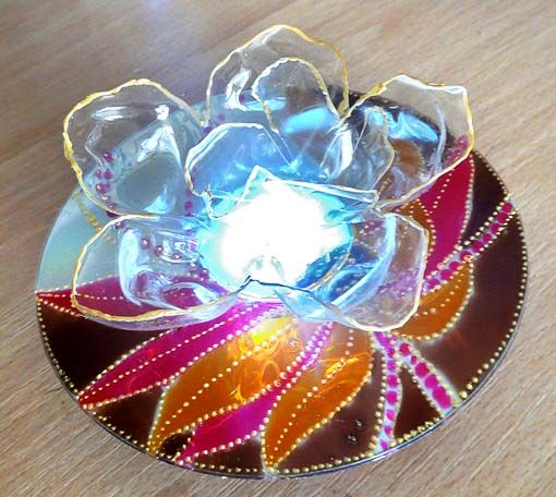 art and craft ideas with old cds