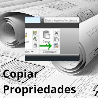 Como copiar propriedades da linha no AutoCAD