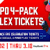 Bisons offer 4 FREE flex tickets with BPO 4-Pack purchase for KeyBank Independence Eve