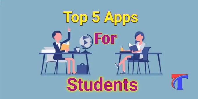 ऑनलाइन पढ़ाई का top 5 ऐप कौन सा है? study ke liye best app