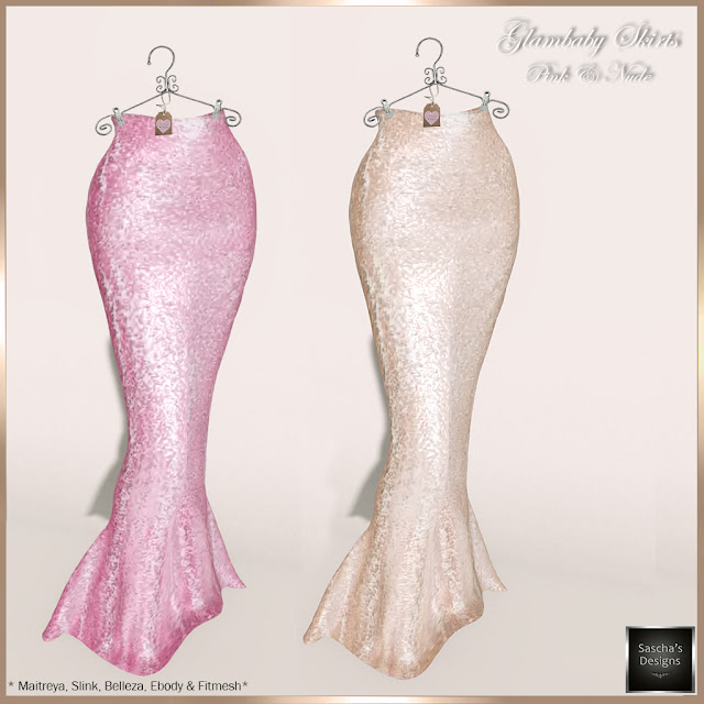 SASCHA'S DESIGNS - Glambaby Skirts (Mesh Bodies & Fitmesh)
