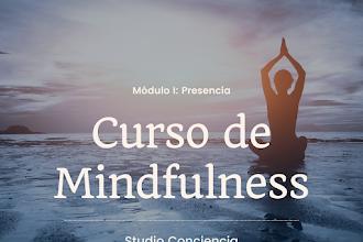 Curso de mindfulness con Studio Conciencia  - Descuento Alumni
