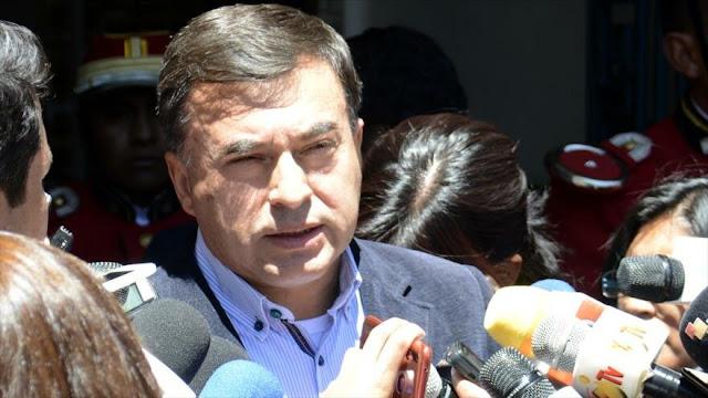 Bolivia denuncia injerencia de EEUU en sus asuntos internos