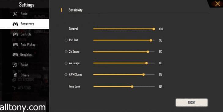أفضل إعدادات حساسية Free Fire لأجهزة Android المنخفضة بعد تحديث OB27