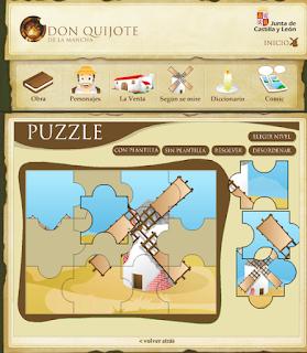 http://www.educa.jcyl.es/educacyl/cm/gallery/Recursos%20Infinity/tematicas/webquijote/puzzle1.html
