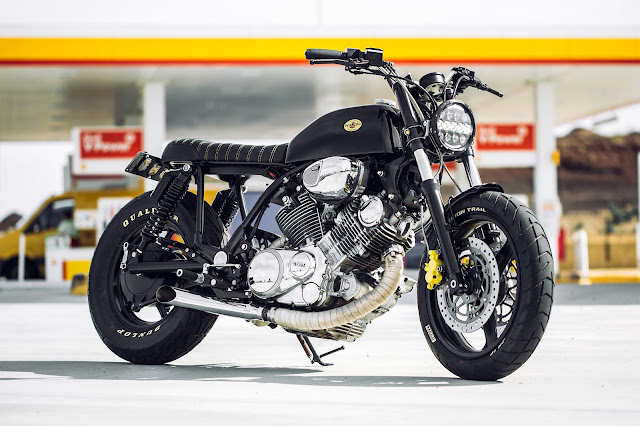 Yamaha XV1100 By Rogue Motorcycles Hell Kustom