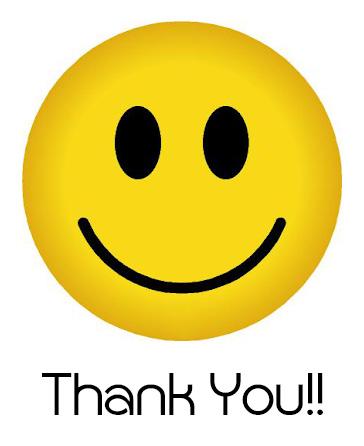 Smiley Face Thank You Emoji 8