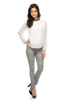 Pantaloni Abbie Gri