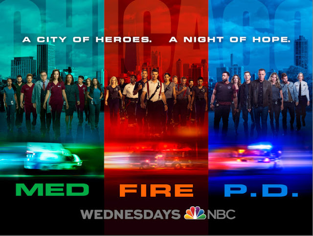 chicago med%252C pd and fire new season key art - NEW Chicago Wednesday Promo