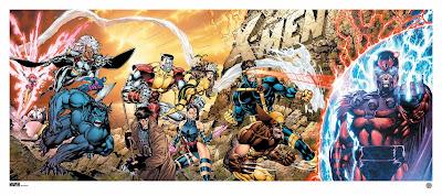 Marvel's X-Men #1 Fine Art Giclee Print by Jim Lee & Scott Williams x Grey Matter Art