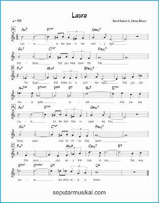 laura lagu jazz standar