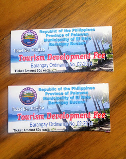 Entrance Fee Ticket in Nacpan Beach