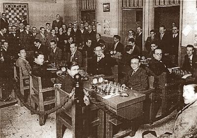 Club d'Escacs Barcelona en 1942